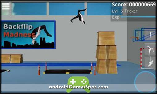 Backflip Madness free android games