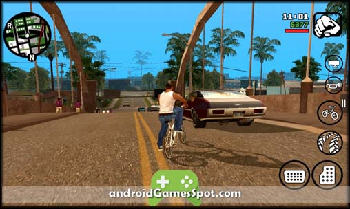 Grand Theft Auto San Andreas free games for android