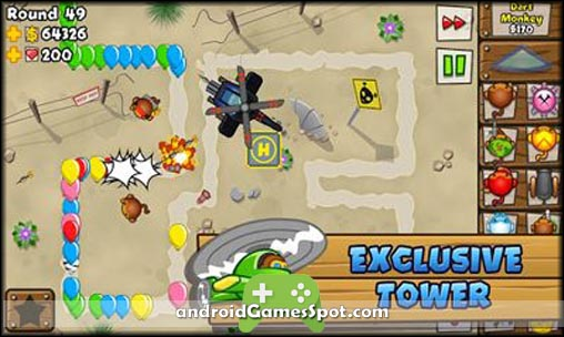 BLOONS TD 5 free games for android apk download