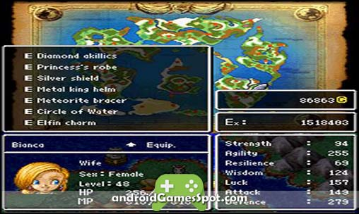 DRAGON QUEST V free android games apk download