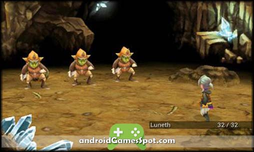 FINAL FANTASY III free android games apk download