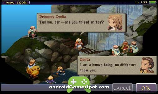 FINAL FANTASY TACTICS free games for android apk download