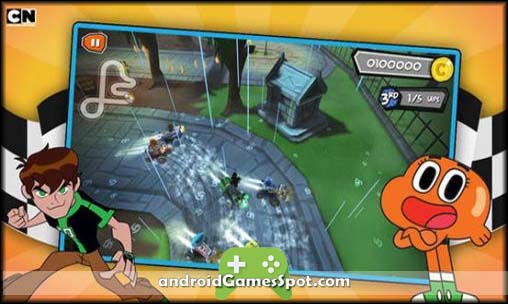 formula cartoon all stars games