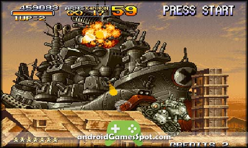 METAL SLUG 2 android apk free download