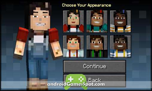 Minecraft Story Mode free games for android apk download