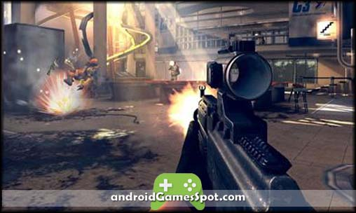 Modern Combat 4 Zero Hour free games for android