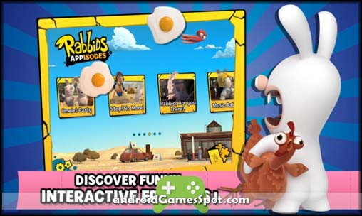Rabbids Appisodes free games for android apk