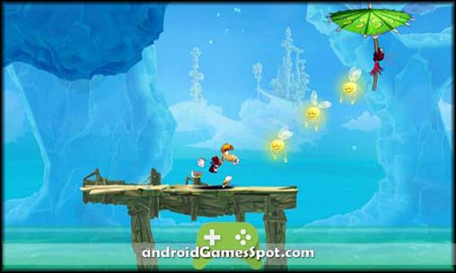 Rayman Fiesta Run free games for android