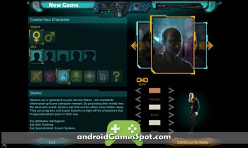 Shadowrun Returns free games for android