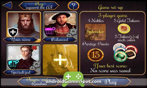 Splendor free games for android
