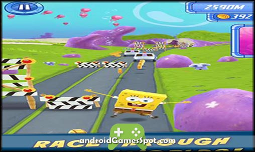 SpongeBob Sponge on the Run free games for android apk download