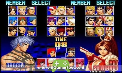 THE KING OF FIGHTERS 97 game apk free download