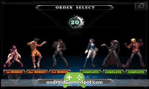 THE KING OF FIGHTERS game apk free download