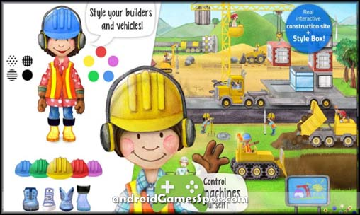Tiny Builders - Seek & Find free games for android