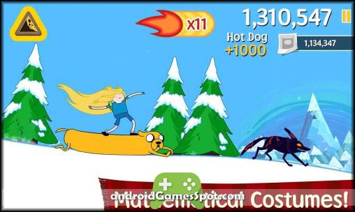 ski safari adventure time apk free download