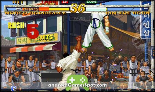 GAROU MARK OF THE WOLVES free android games apk download