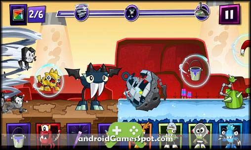 Mixels Rush free games for android apk download