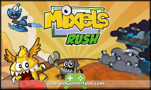 Mixels Rush game apk free download