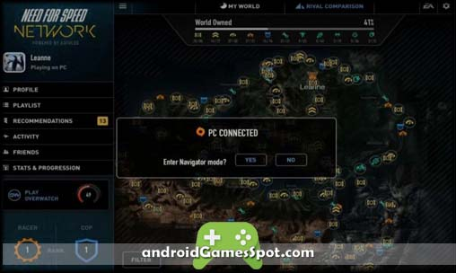 Need for speed network android apk free download for Need for speed android