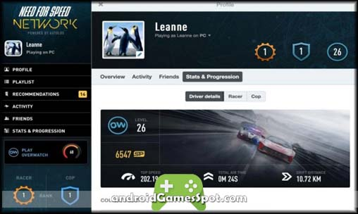 Need for Speed Network game apk free download