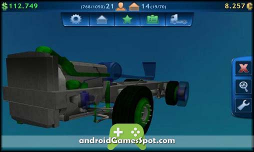Truck Fix Simulator 2014 free android games apk download
