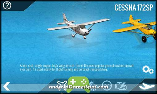 X-Plane 10 Flight Simulator free android games apk download