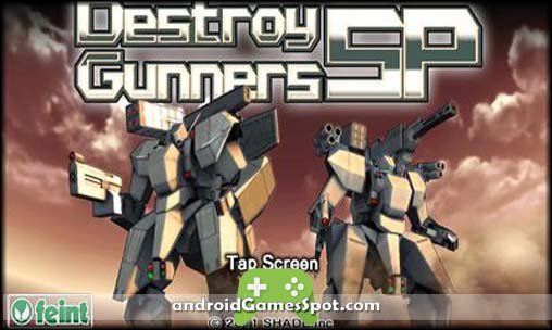 Destroy Gunners SP game apk free download