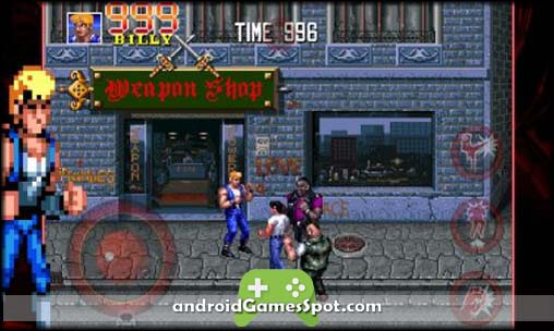 Double Dragon Trilogy free android games apk download