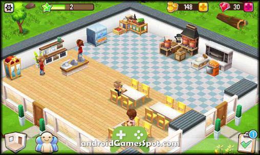 Food Street game apk free download