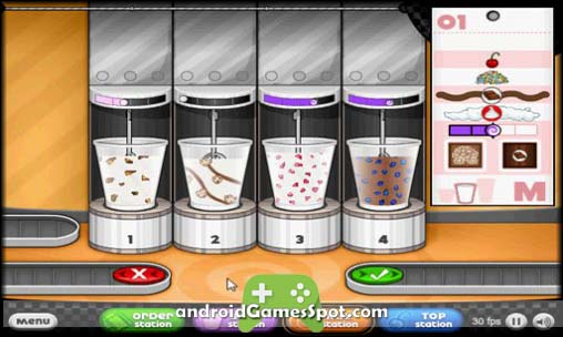 Papa's Freezeria HD free android games apk download