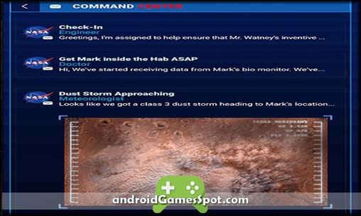 The Martian Bring Him Home free android games apk download