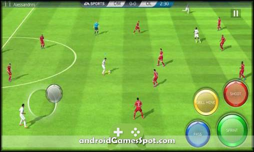 FIFA 16 free android games apk download