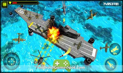 GUNSHIP BATTLE Helicopter 3D free android games apk download