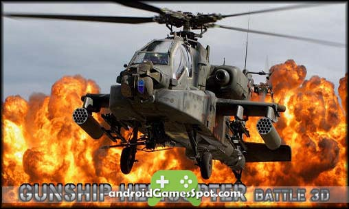 GUNSHIP BATTLE Helicopter 3D game apk free download