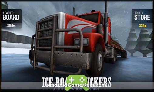 Ice Road Truckers game apk free download