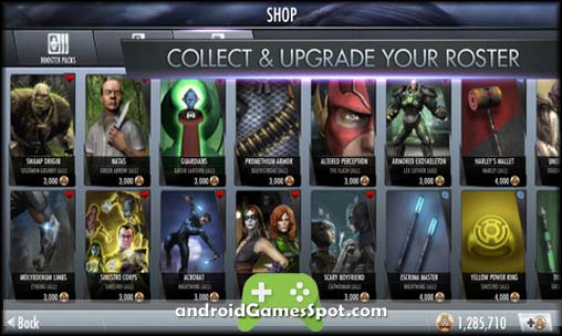 Injustice Gods Among Us game apk free download