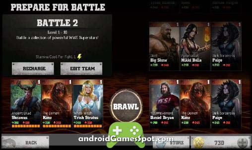 WWE Immortals free android games apk download