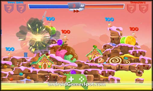 Worms 4 free games for android apk download