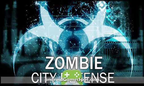 Zombie City Defense game apk free download