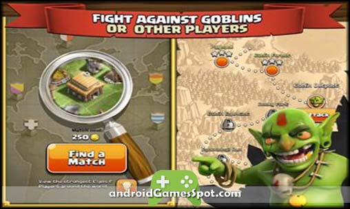 Clash of Clans free android games apk download