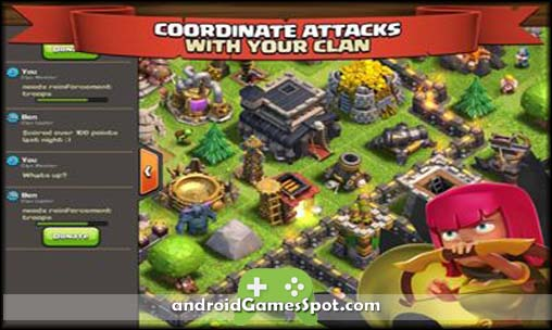 Clash of Clans free games for android apk download