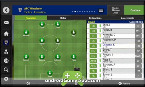 Football Manager Mobile 2016 apk free download