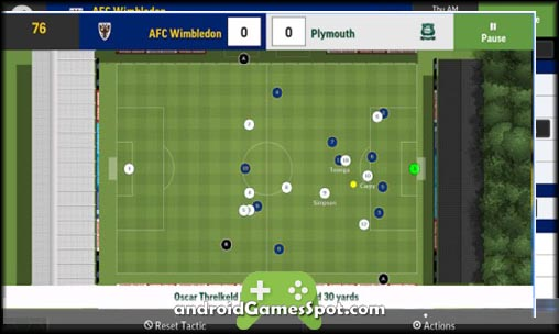 Football Manager Mobile 2016 free games for android apk download