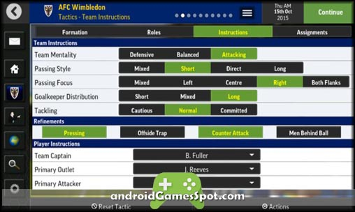 Football Manager Mobile 2016 game apk free download