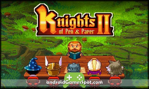 Knights of Pen and Paper 2 game apk free download