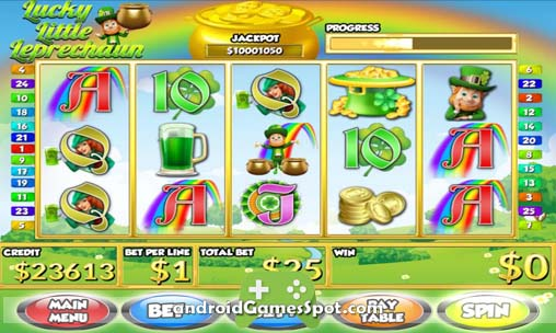 Lucky L Leprechaun Slots PAID free android games apk download