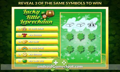 Lucky L Leprechaun Slots PAID game apk free download