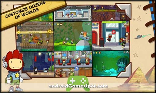 Scribblenauts Unlimited free android games apk download