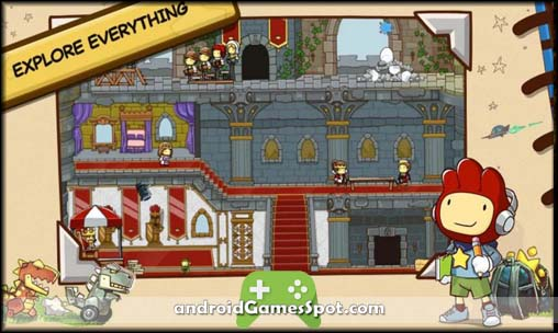 Scribblenauts Unlimited free games for android apk download