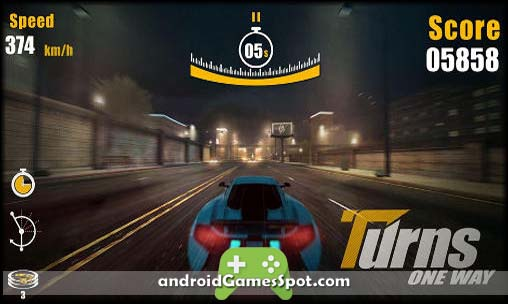 TURNS ONEWAY RACING game apk free download